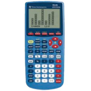 Texas Instruments Calculator Ti 73 Explorer Graphing