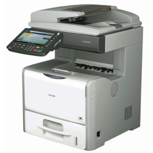 RICOH MULTI-FUNCTION -- Ricoh Aficio SP5210SF Laser Fax, Copier ...