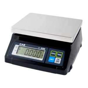 CAS SW-RS 20lb Small Footprint POS Interface Scale **Full Year Guarantee**